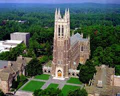 Duke Cathedral in Durham, NC